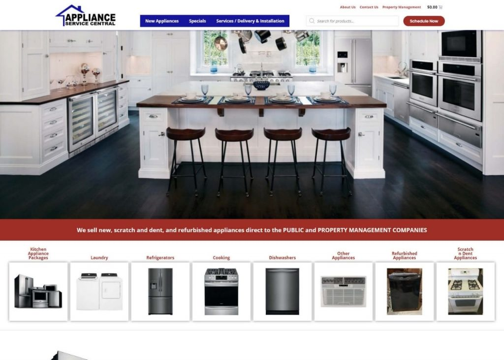 Appliance Service Central Feature Image