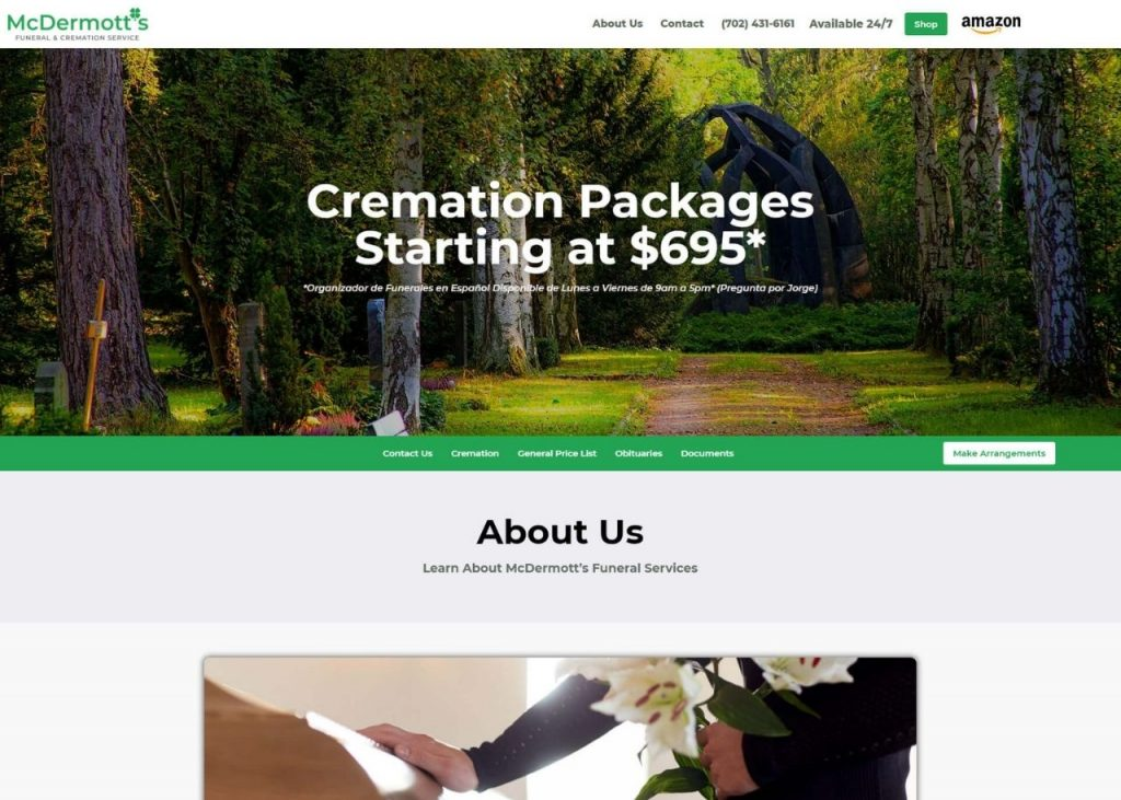McDermotts Funderal & Cremation Service Feature Image